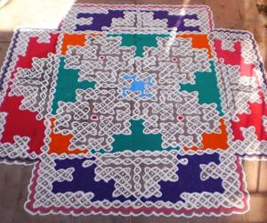 MARGHAZHI DEW DROPS KOLAM CONTEST