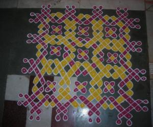 For margazhi kolam contest-2011