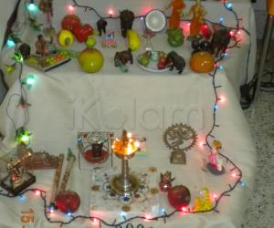 Simple golu at my place