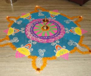 Rangoli: Diwali Contest Kolam