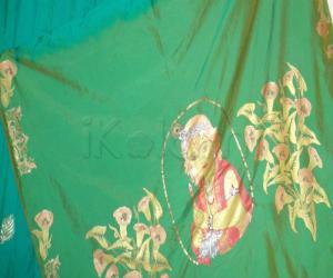 saree painting