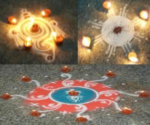 Rangoli: Diwali Night full of lights