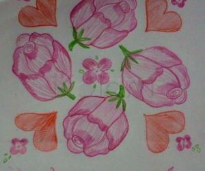 Rangoli: 10 * 10 Valentine's Day