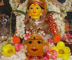 Rangoli: Varalakshmi pooja
