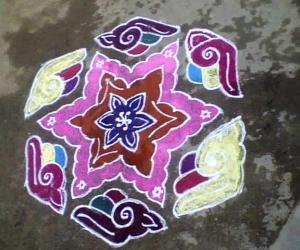 Rangoli: Tamil New Year 2011