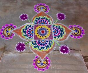Rangoli: Chithirai Thirunal