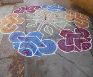 Rangoli: Happy Holi