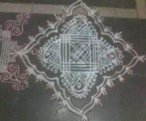 Aadi 1st Velli Padi Kolam