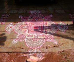 Tamil new year kolam