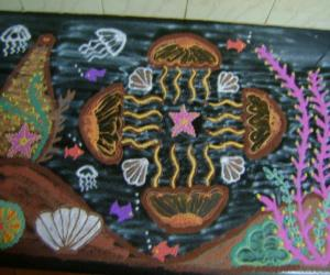 Rangoli: Jellyfish