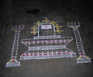 Shivarathri Kolam