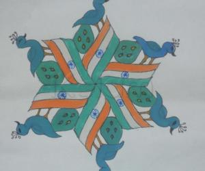 Independence day KOlam