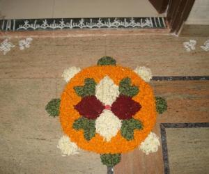 Rangoli: Onam Day 1