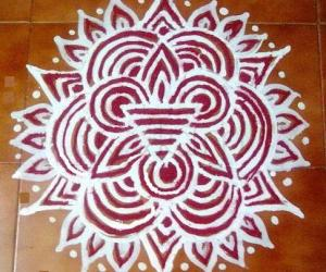 Friday Line Kolam