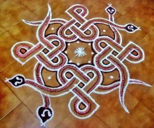 Naga Panchami Kolam