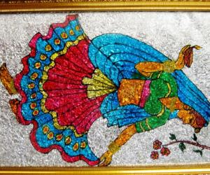 Rangoli: A Dancing Lady