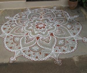 Rangoli: Ganesh Chaturthi Kolam