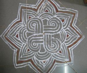 Rangoli: Ganesh Chathurthi  maakolam