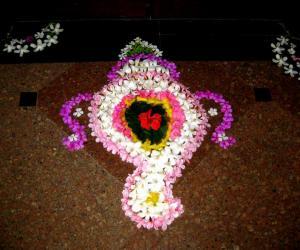 Rangoli: Onam Aashamsakal