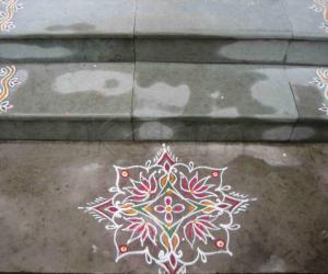 Rangoli: Friday small kolam