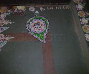 Rangoli: Sankadahara chadhurthi special