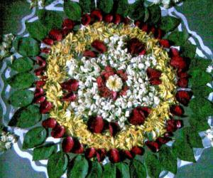Rangoli: Bigger version of the Onam Poo Kolam