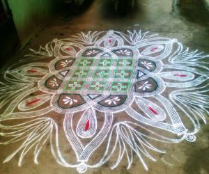 Rangoli: Sivarathri special