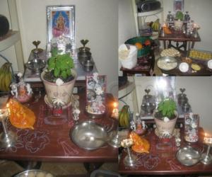 Rangoli: Janmashtami  August 2011