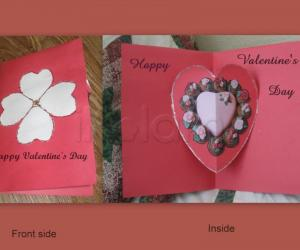 Rangoli: Valentines's Day Greeting Card 2011