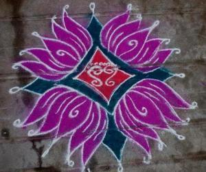 Rangoli: Ramanavami Rangoli