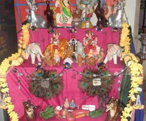 Rangoli: golu contest 2010