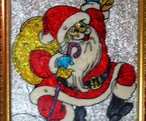 Rangoli: Santa Clause - The God's Messiah !