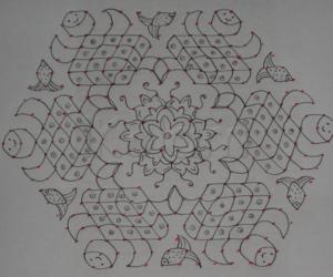 Turtle Kolam