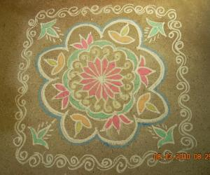 Varalakshmi Vratam Kolam