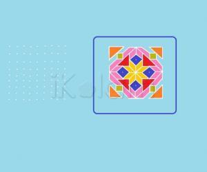 Rangoli: 9x9 rangoli