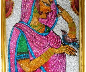 Rangoli: Lady Love