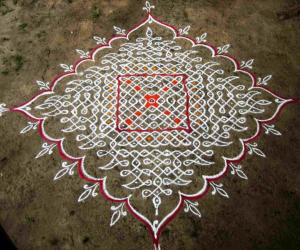 Rangoli: Happy Mother's Day -1