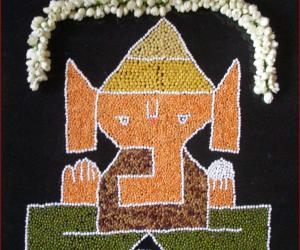 Rangoli: pillaiyar