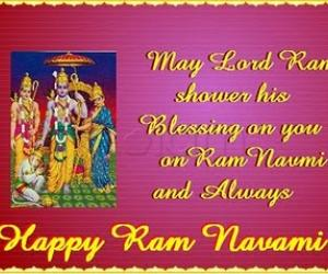Rangoli: Happy SriRamanavami.