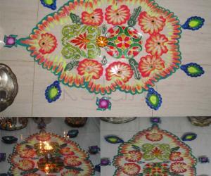 Rangoli: Varalakshmi Vritam 2011 kolam