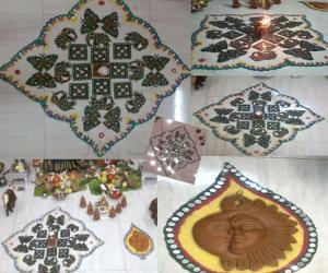 Rangoli: vinayagar chaturti kolam