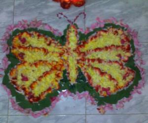 Rangoli: My mom's pookalam