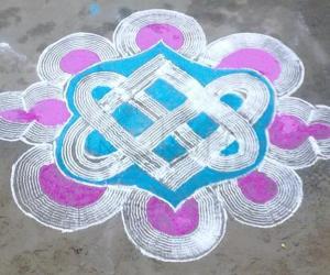 Rangoli: kuzhal kolam4