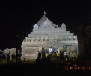 Rangoli: DURGA PUJO CELEBRATION AT KOLKATA - 2011