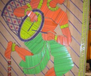 Rangoli: DURGA PUJO CELEBRATION - KOLKATA 2011