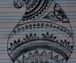 Rangoli: Mehndi design