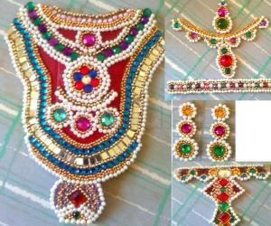 Ambal Jewels - For kalasam decoration - Golu 2011