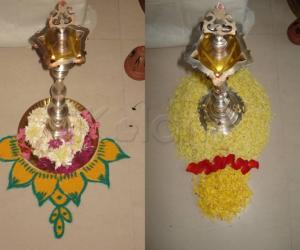 Rangoli: Golu Decoration