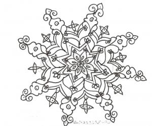 Rangoli: My free hand kolam in california