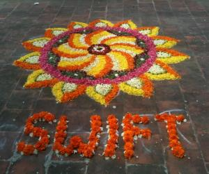 Rangoli: My first Pookolam